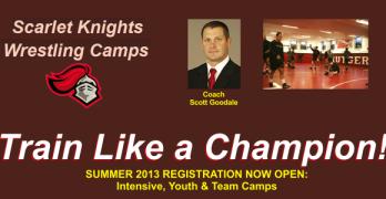 Summer 2013 Wrestling Camp: Train Like A Champion