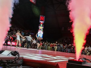 Rutgers wrestling has created a raucous home environment at the Rutgers Athletic Center since joining the Big Ten. (Photo: Keith A. Muccilli/ Correspondent)