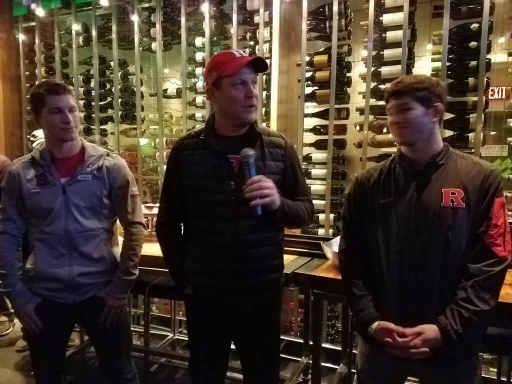 All American Ken Theobold, Coach Scott Goodale, 3x All American Anthony Ashnault
