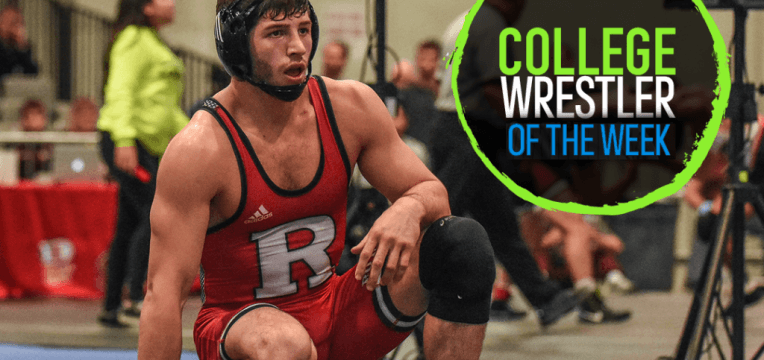 Anthony Ashnault – TOM Wrestler of the Week