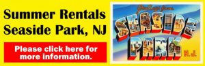 Seaside Park NJ summer rentals